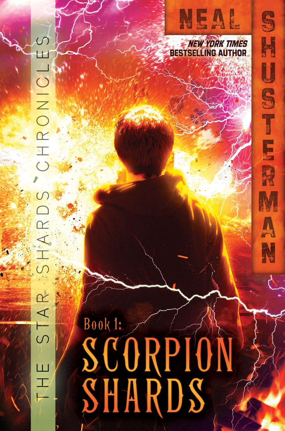 First up we have the first book in the series, Scorpion Shards.