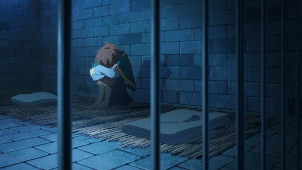 Kazuma in jail