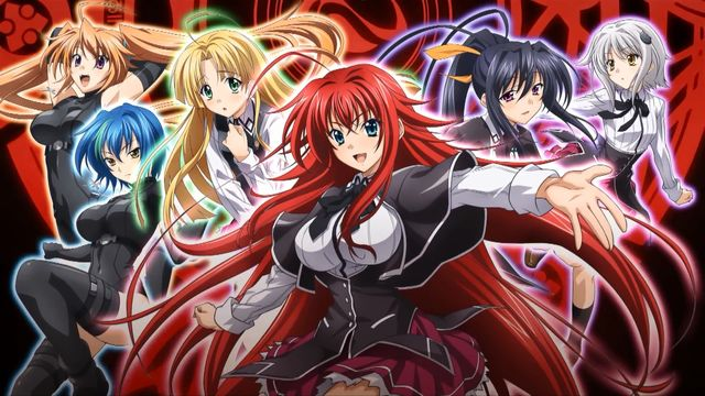 Rias and the rest of her devils