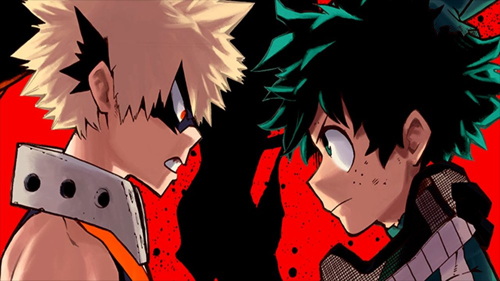Bakugo and Midoriya