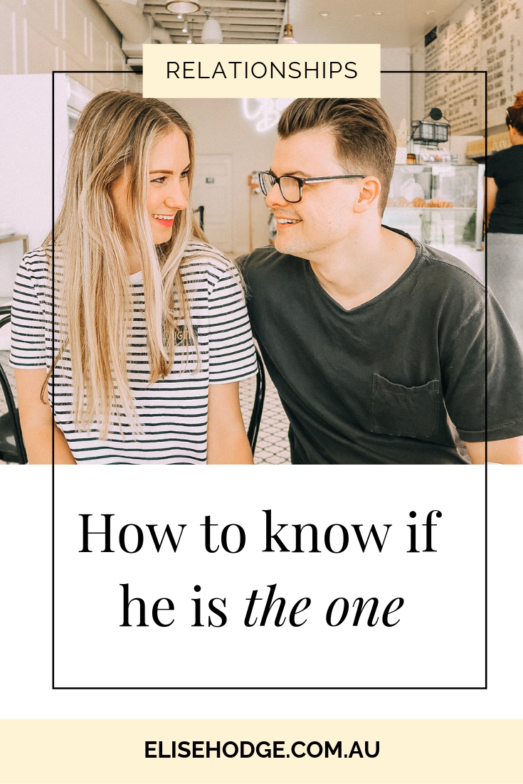 How to know if he is the one