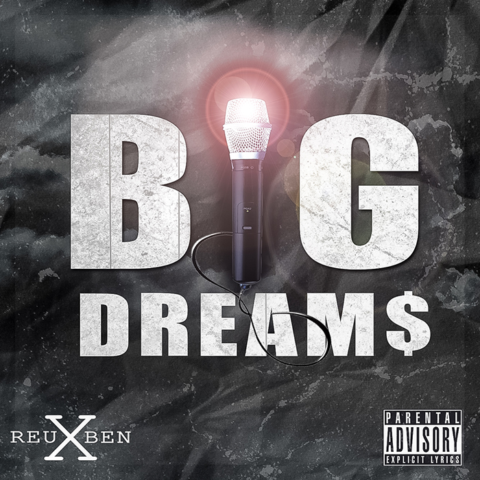 "Reuben X Is Try'na Get Rich Off These 16's In His New Single, BIG DREAM$   Up and coming emcee Reuben X dropped his most recent single, BIG DREAM$ [note the capitals], aiming to motivate and inspire all those chasing either a big dream or a big goal. The beat, first of all, is bonkers; it was laid out by UK phenom Menace, who happens to be the producer responsible for the platinum mega-hit, ""Panda."" That's definitely a way to a good impression. The anthemic chorus is one that will definitely get stuck in your head!  Reuben has bars, and this song is a great showcase. Add it to your playlist, ASAP!!!    ""An excuse is a noose, you gotta take responsibility to cut it loose"""