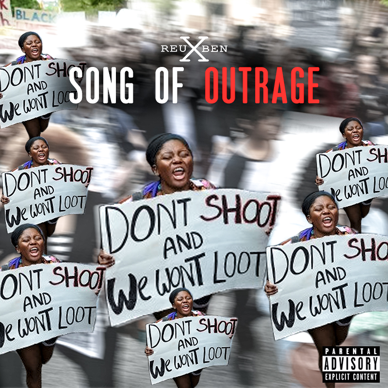 "In the midst of recent shootings of innocent black lives I have decided to release this song I wrote called ""Song Of Outrage"". In this track I'm addressing the issue of african american's being targeted by law enforcement for what would seem to be like target practice. Over 114 black men have been killed by police in the U.S. in 2016 alone. This is a shocking statistic. The most saddening problem of all of this is that police are not held accountable for their fatal actions and also the lack of sympathy from those who seem to think that the victims somewhat deserved an instant death sentence...The list is getting longer and longer everyday of those being killed. If you are just as fed up with it as I am I ask you to join me in this push for safety, freedom, equality and justice! Listen, Share, Repost This SONG!"