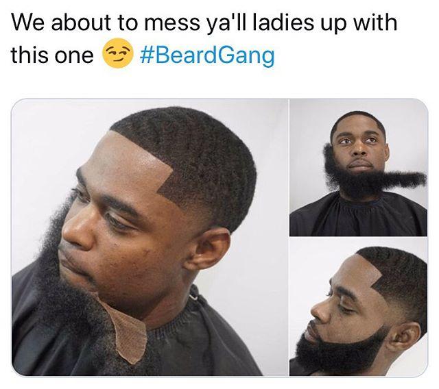 Deny the FaceTime cuz my beard not on right 🧔🏿#BeardGame #GameChanger