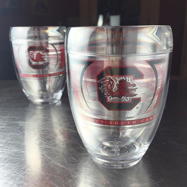 Stemless  #Gamecock  wine tumblers? It's like  @tervis  looked into my brain and figured out what my  #tailgate  needed most.  #partyon   —  @annewolfepostic on Instagram, September, 2016