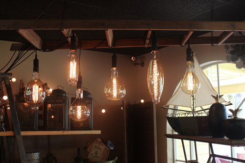 Large Edison Lights with cords