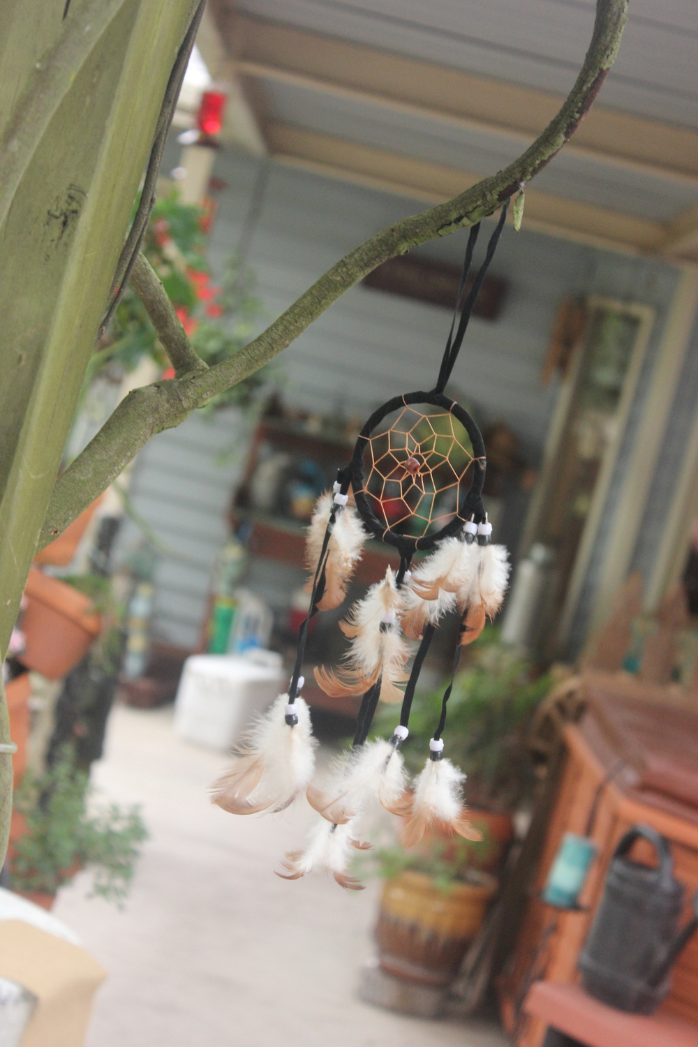 There were touches of dream catchers everywhere!