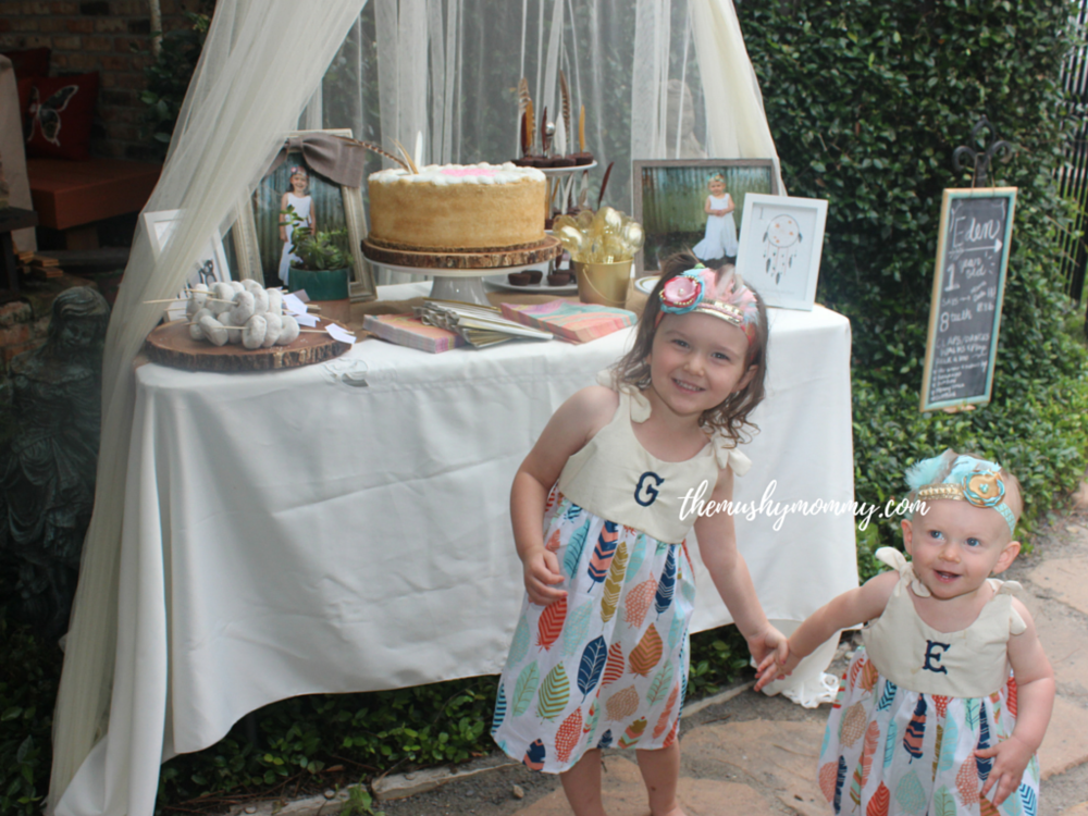 My beautiful girls! Dress via Etsy/ Crown via Etsy / Shoes via Amazon