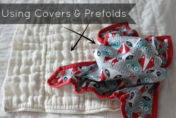 Featured is a Bummis Prefold and Rumparooz Cover