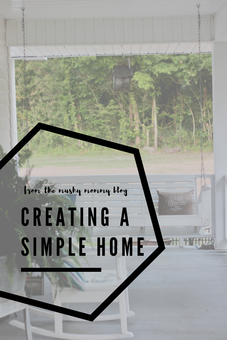 Creating a Simple Home