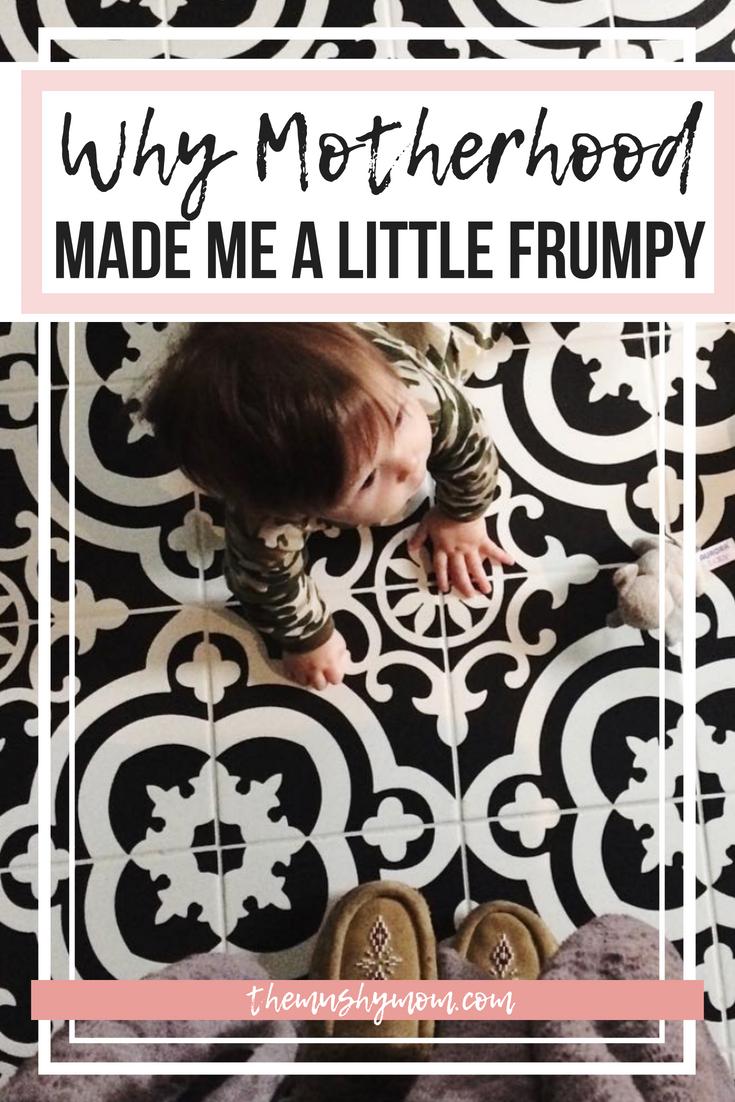 Motherhood Made me Frumpy