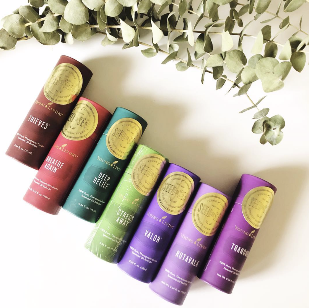 Young Living even has premade and diluted roll ons which makes it super easy for topical use.