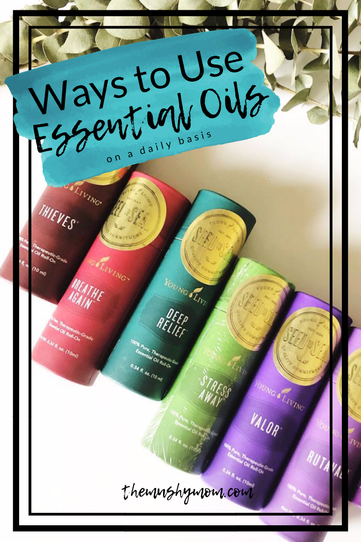 Using Essential Oils on a Daily Basis