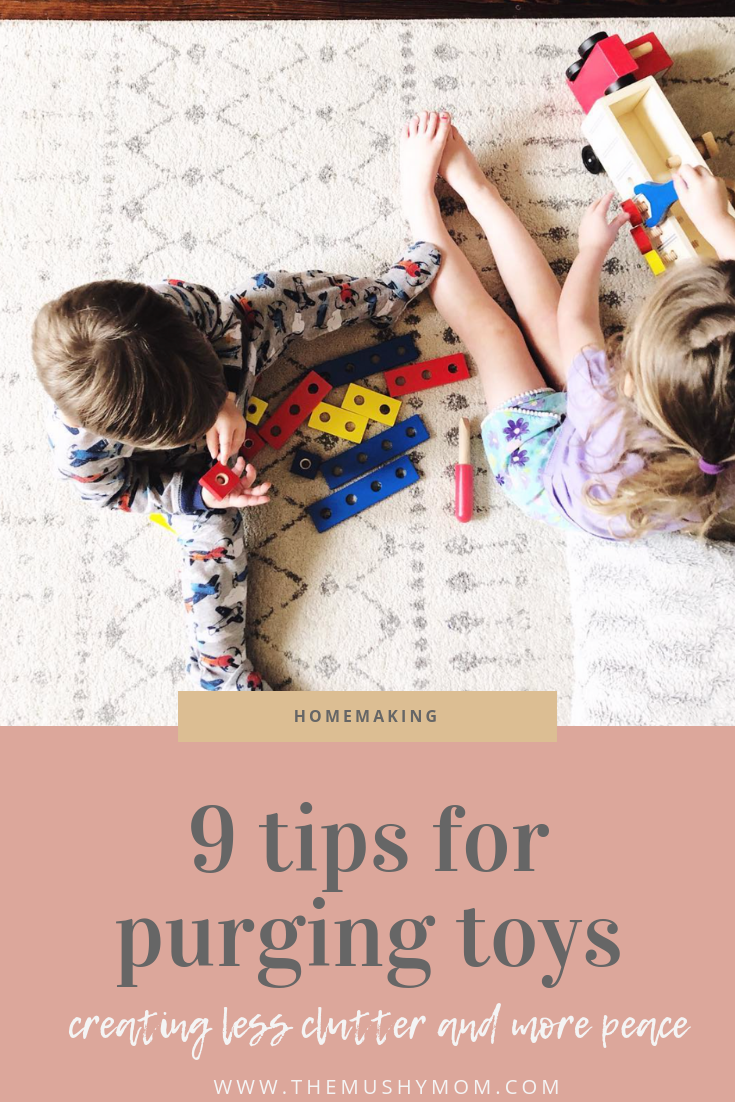 9 Tips for Purging Your Kid's toys