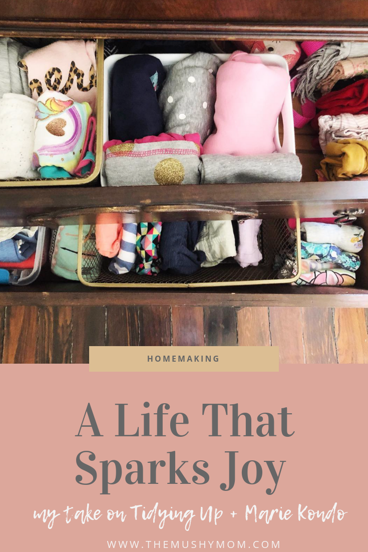 Tidying Up and Marie Kondo