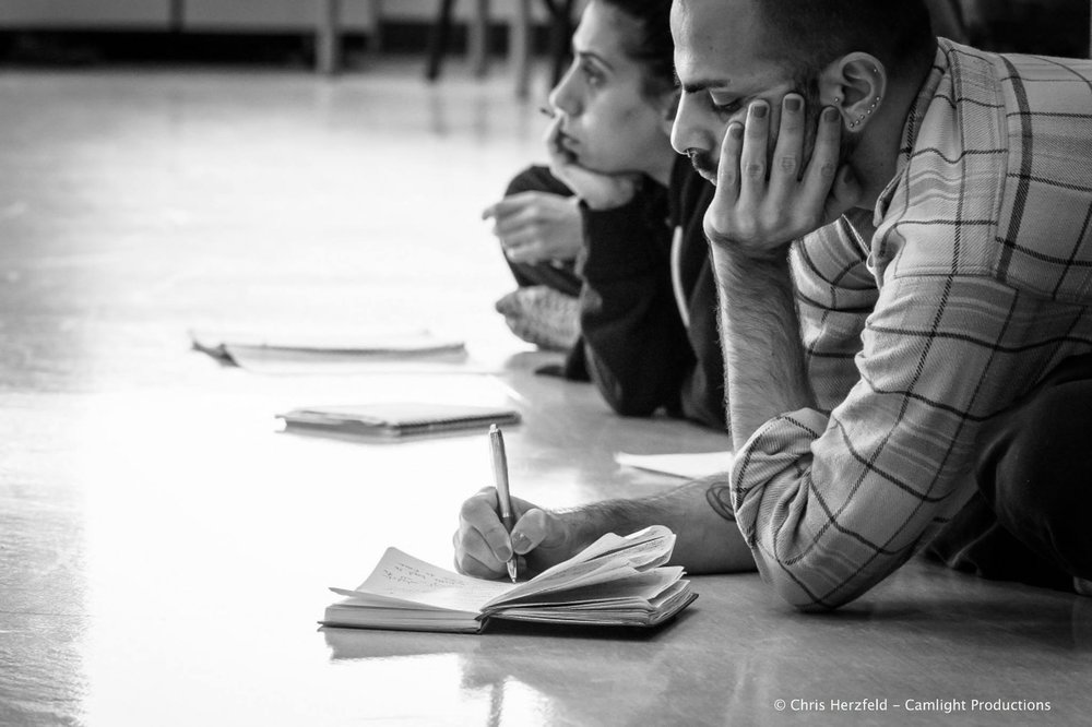 From The Mill Choreographic Lab, Adelaide, Australia.                                                                                                  Photo: Chris Herzfield