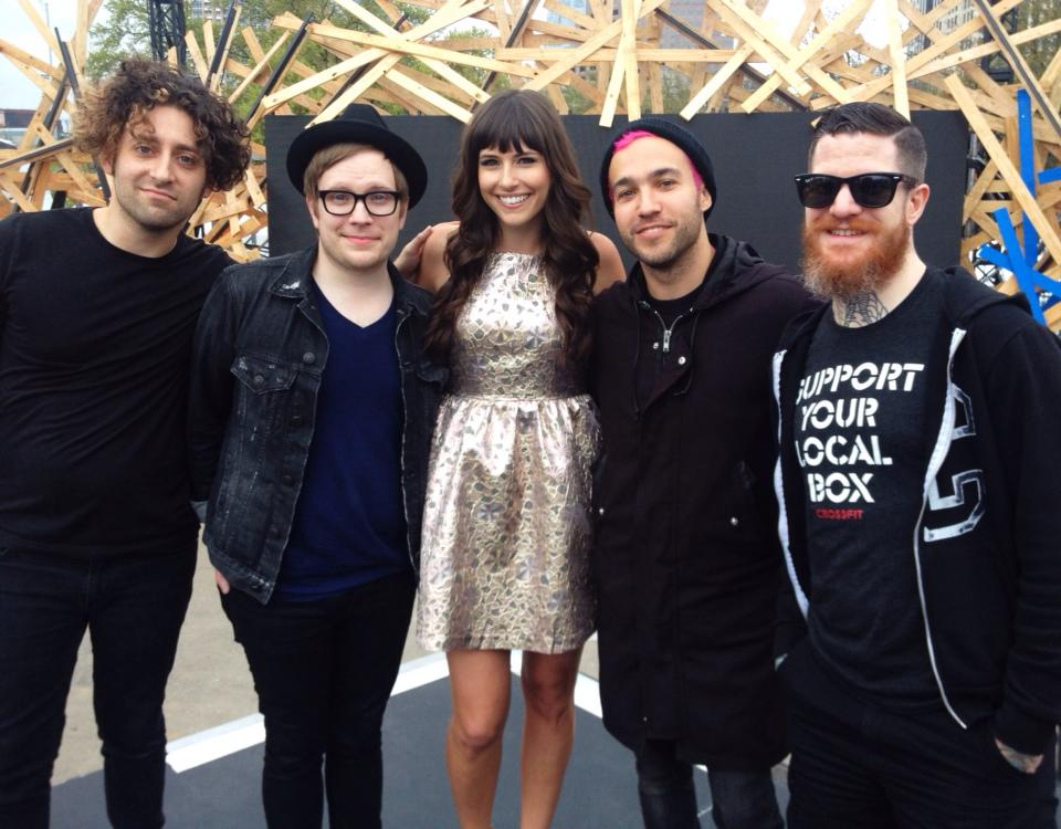 Carly Henderson and Fall Out Boy