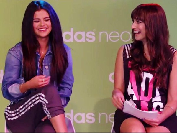 Carly Henderson and Selena Gomez