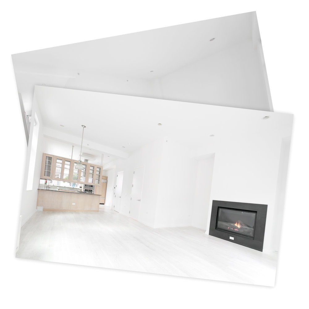 Make photos of empty apartments you want to sell.