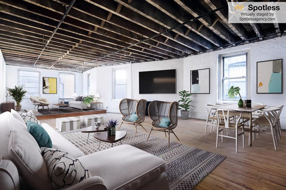 Living room by Spotless Agency