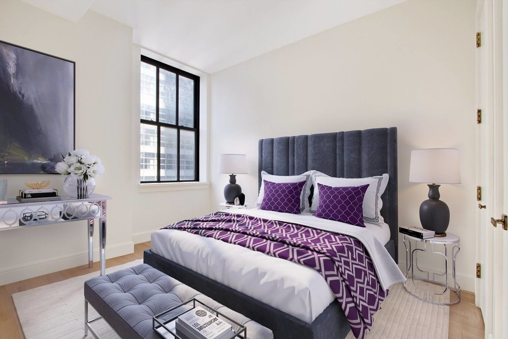 Virtually Staged Bed Room by Spotless Agency