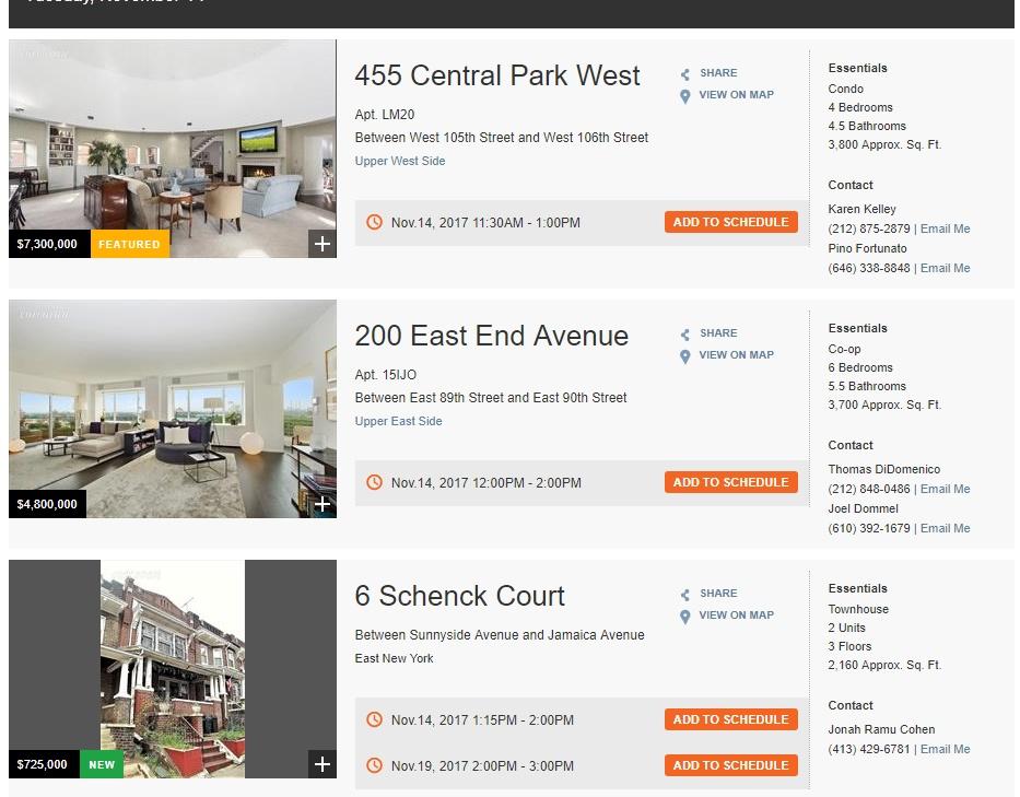 Property listing at corcoran.com