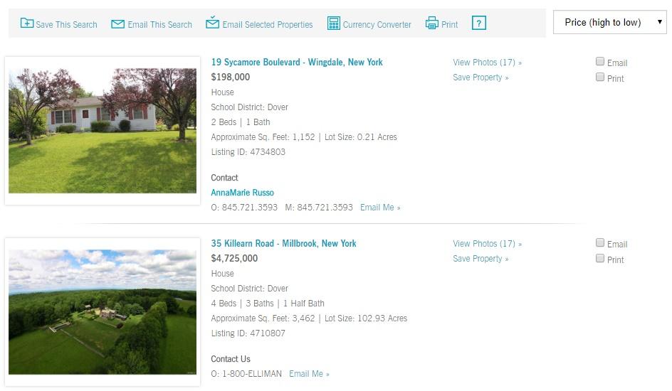 Property listing at elliman.com