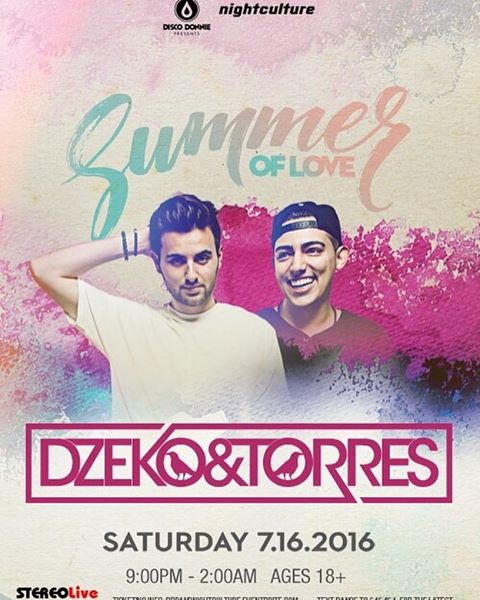Tonight!! @stereolive @stereolivebottleservice_  @dzekoandtorres are here Houston! It's gonna be Massive!!! @i_is_surain  is opening up and we will be on the terrace from 11-12 see y'all tonight!! @nightculture @discodonniepresents 🚀🔥🔥🔥🔥#nonc3nts #soundcloud #beatport  #ableton #madewithlive #sucias #push #edmlifestyle  #splice #house #ultra #wavo #edclv  #festival  #insomniac #ravebooty #nonc3ntsradio  #producer #dj #rage #edc #houstonravers #toneden  #talnts #edm #GVOS #nightculture  #stereolive #discodonniepresents