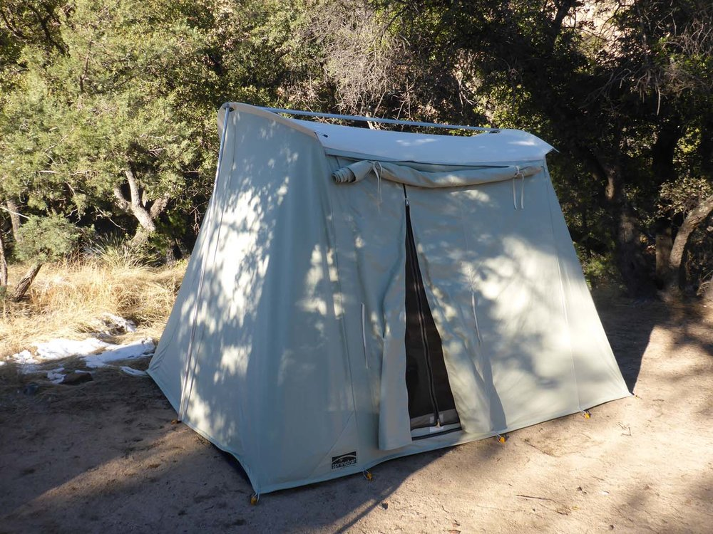 Vagabond 4 Springbar tent & Sleep Kit u2014 Zion Camping Rental