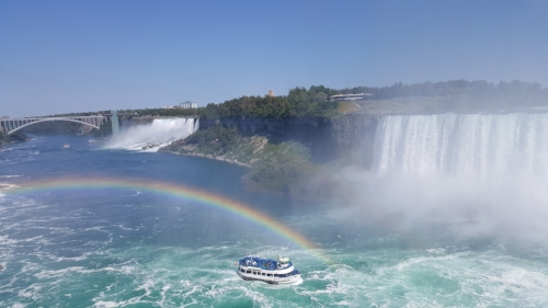 rainbow at Niagara