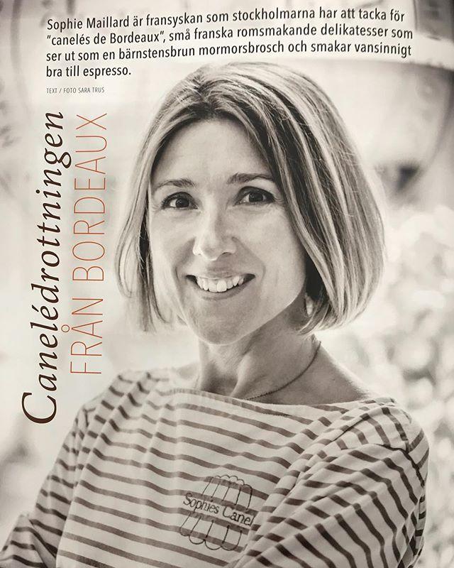 Canelédrottningen från Bordeaux 💋  #stockholm #bdx #bordeaux #visitstockholm #canelé #frenchbakery #fika #reportage #inspiration #godatips 📷 Sara Trus /tidningen Deliciöst @delifrancenorden