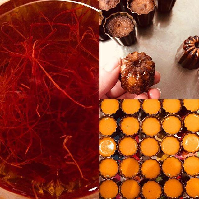 Idag lanserar vi saffrancaneléer hos Sophies Canelé!!! Perfekt till en glöggfest och ett special tillfälle i december 🥂🍾 kom&njut våra hembakade och älskade canelé 😉