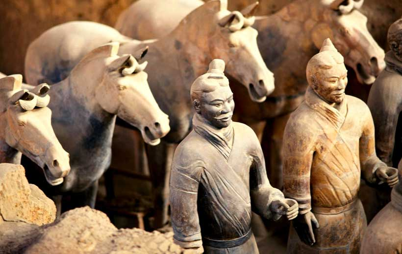 Terracotta Warriors Photo source: http://m.wudu001.com/