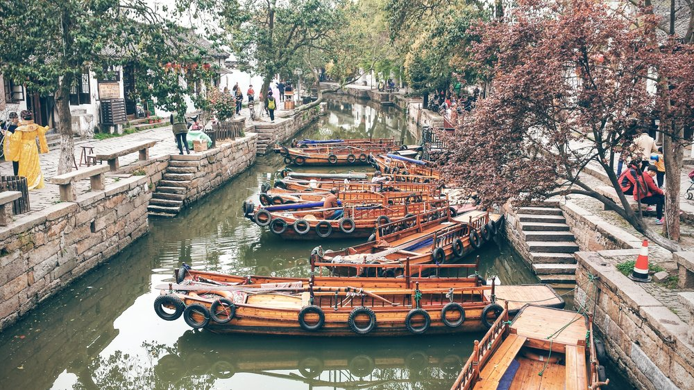 Tongli Water Town. Photo source: www.commons.wikimedia.org