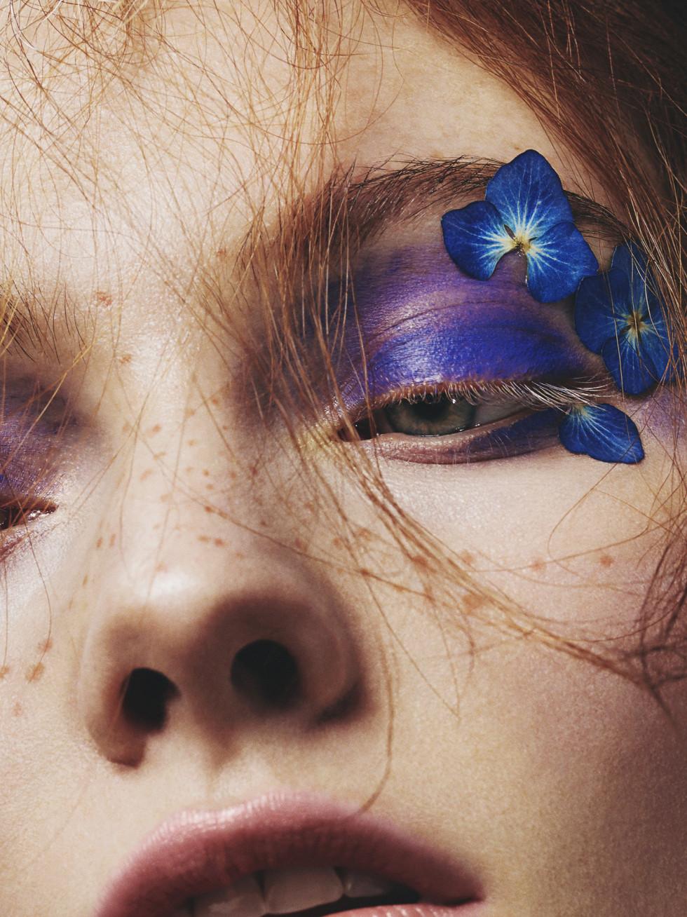 Photography Mike Blackett and makeup artist Scarlett Burton
