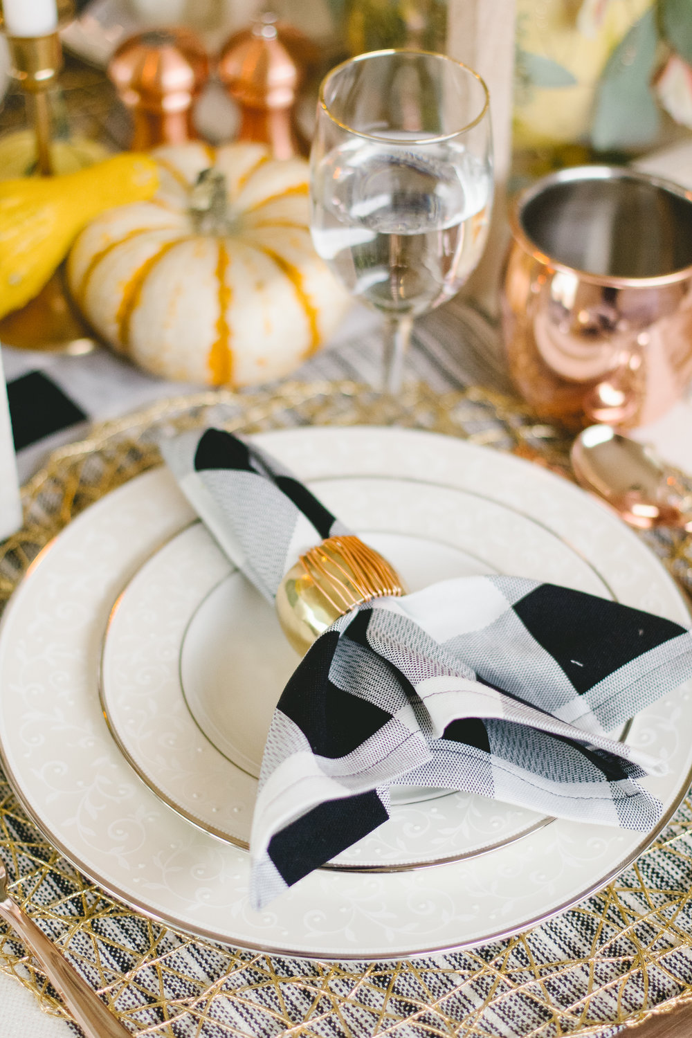 Check out this napkin tutorial over at Dazzling Hospitality!