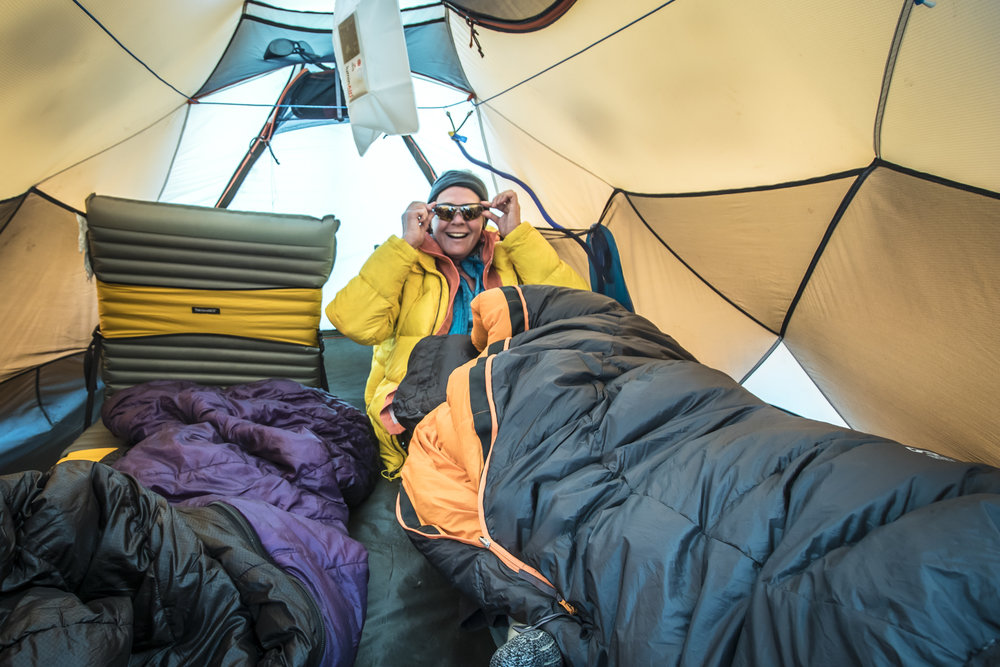 No alpine trip is complete without some quality tent time!
