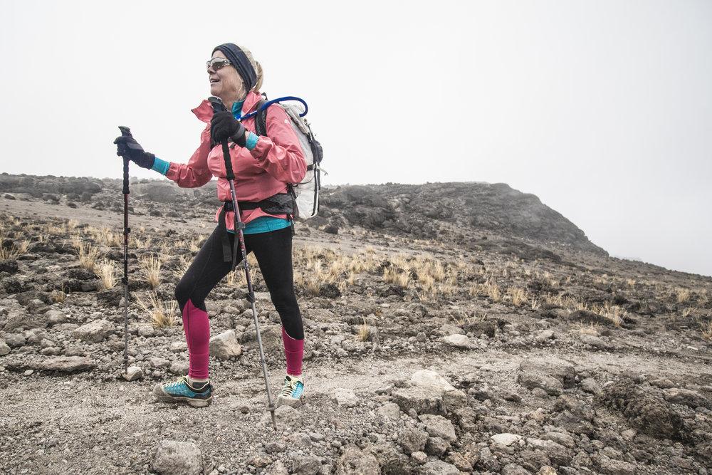 Hiking on Kilimanjaro