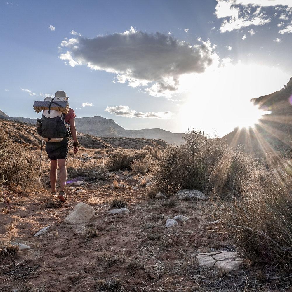 Hiking the Hayduke Trail in May