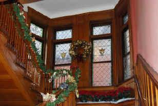WCA holidaystairs.JPG