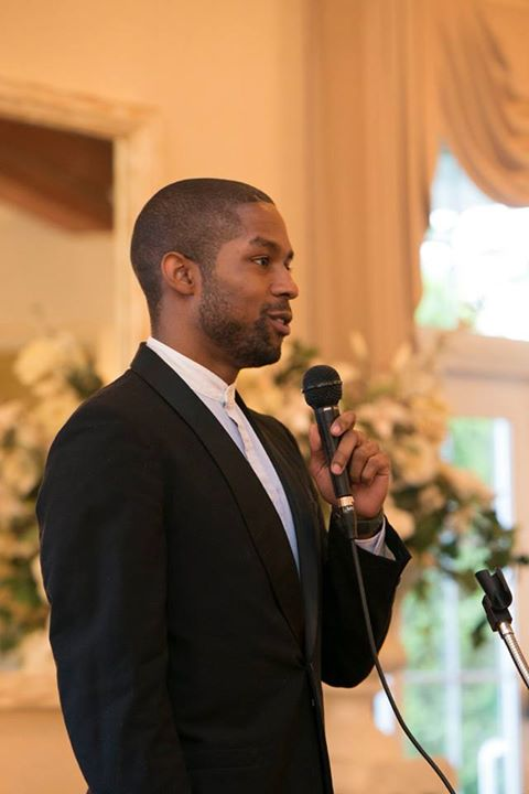 Travon speaking at our 2015 Graduation Celebration
