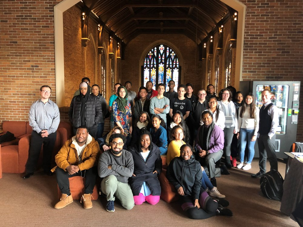Albany and Troy Scholars at Maria College