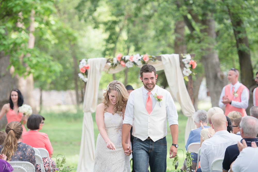 Natalie Koziuk Photography | Boise wedding photographer | ceremony | Star, ID | Bride Groom | nkoziukphotography.com