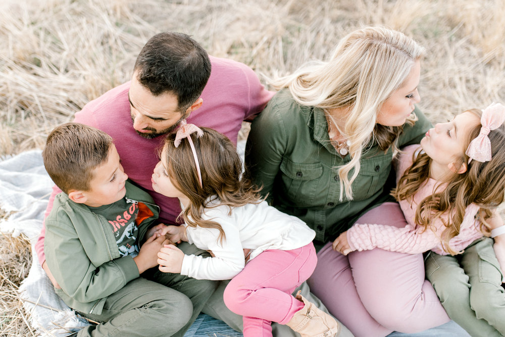 lifestyle photographer in Boise, id | family session in the boise foothills | military reserve | mom dad and kids