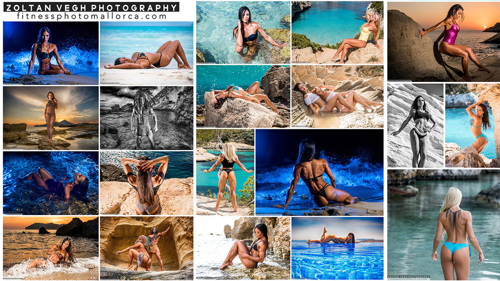 Photo Shootings in Mallorca - From April 2018 till October 2018 - Half day shooting - 300 Euros - 2 outdoor locations. I live in Mallorca and I have the local expertise to do great shootings there.