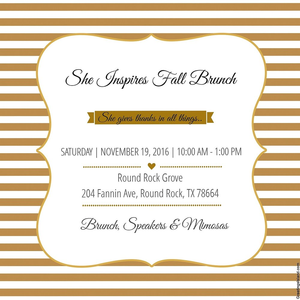 Hope you can come brunch with us!! https://www.eventbrite.com/e/she-inspires-fall-brunch-tickets-28447866334?aff=es2