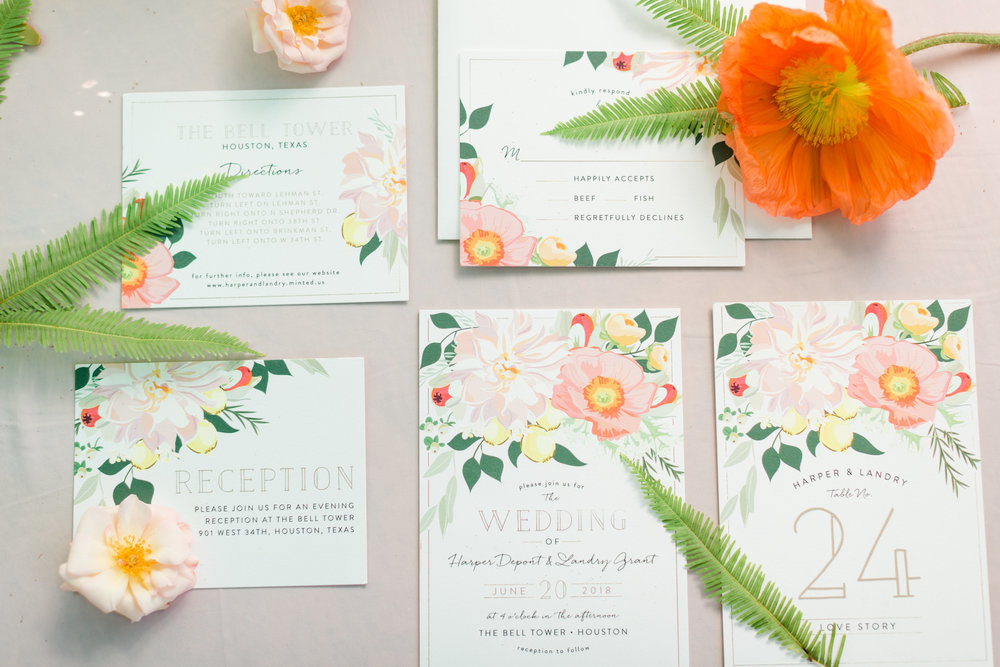 Inspired By Minted: Blooms Brunch Table — she inspires