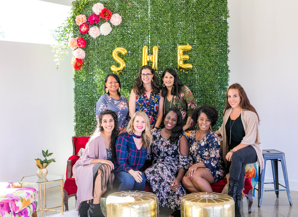 These lovelies helped make this brunch so special, from the team pulling all the details together, to the speakers on our panels.  They were all such a blessing and helped make each woman that attended feel inspired.