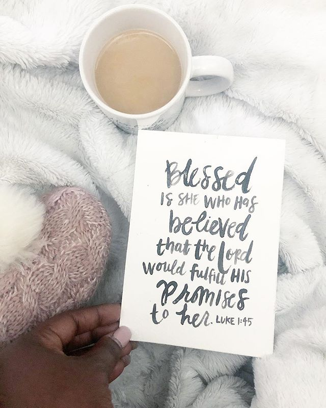 """Happy Sunday beautiful ladies!!"""" • This verse speaks to my heart often, ladies we have to believe and know that God will not go back on his words.  He promises us so much and he loves us dearly.  Now look up and be grateful for all that he is doing in your life!"""" • #sheinspires #jesus #encouragement #sunday #sweetsunday #goodmorning #womenempowerment #womenoffaith #womanofgod #fall #november #godisgood #goodmorning #happysunday #theword"""