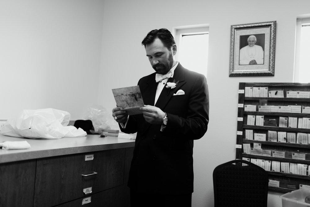 kristian reading letter.JPG